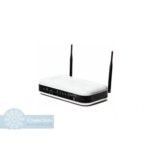 Eltex RG-1402G-W, 2 порта FXS, 1 порт WAN (10/100/1000 Base-T), 4 порта LAN (10/100/1000 Base-T), 1 порт USB