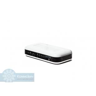Eltex RG-1404G, 4 порта FXS, 1 порт WAN (10/100/1000Base-T), 4 порта LAN (10/100/1000Base-T), 1 порт USB