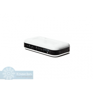 Eltex RG-1404GF, 4 x FXS, 1 x WAN 100/1000Base-X (SFP), 4 x LAN (10/100/1000 Base-T), 1 x USB