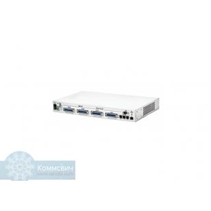 Eltex ТАU-72.IP (SIP/H.323 ), 72 аналоговых абонентских портов, 3хRJ45-10/100/1000, шасси под SFP, SIP/H.323