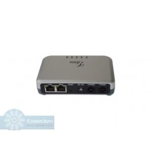 Grandstream HT-502, 2xFXS, 2xETH (router) (SIP ATA адаптер)