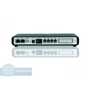 Grandstream GXW-4104, 4 FXO порта, 2 Ethernet порта.