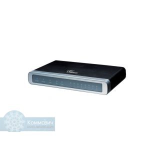 Grandstream GXW-4108,8 FXO портов, 2 Ethernet порта.