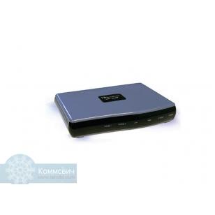 AUDIOCODES MP201B, 1 порт FXS, RJ-11, 2 порта RJ-45 Ethernet 10/100 BaseT