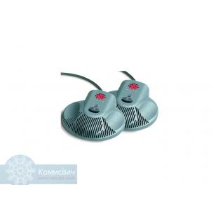 Аксессуар Polycom Комплект дополнительных микрофонов Polycom 2215-07155-001 для конференц-станции Polycom VTX 1000