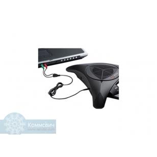 Аксессуар Polycom Комплект кабелей для звонка через Internet с конференц-телефонов 2200-17240-002