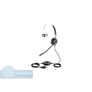 Гарнитура Jabra BIZ 2400 Duo USB, профессиональная телефонная гарнитура для контакт и call-центров