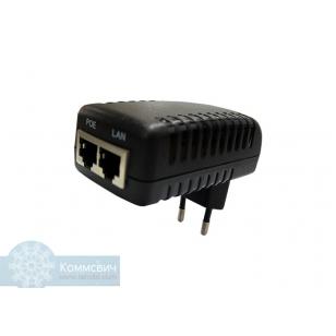 Инжектор питания POE (стандарта 802.3af)